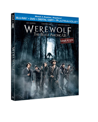 From Universal Studios Home Entertainment: Werewolf: The Beast Among Us Unrated