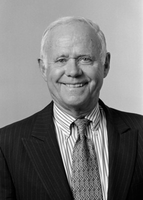 James E. Burke (August 2000. Photo credit: Camera1 NYC). Burke, who died on September 28 at the age of 87, served as Chairman and Chief Executive Officer of Johnson & Johnson from 1976 to 1989, and then was Chairman of the non-profit Partnership for a Drug-Free America from 1989 to 2005. Burke's extraordinary career in the public and private sector earned him the prestigious Presidential Medal of Freedom.  (PRNewsFoto/Johnson & Johnson, Camera1 NYC)