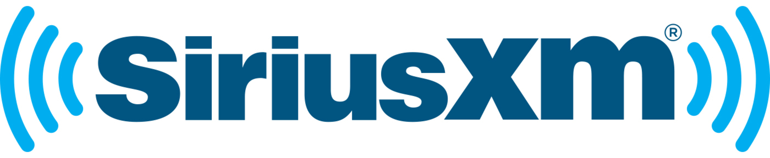 SIRIUS XM logo.
