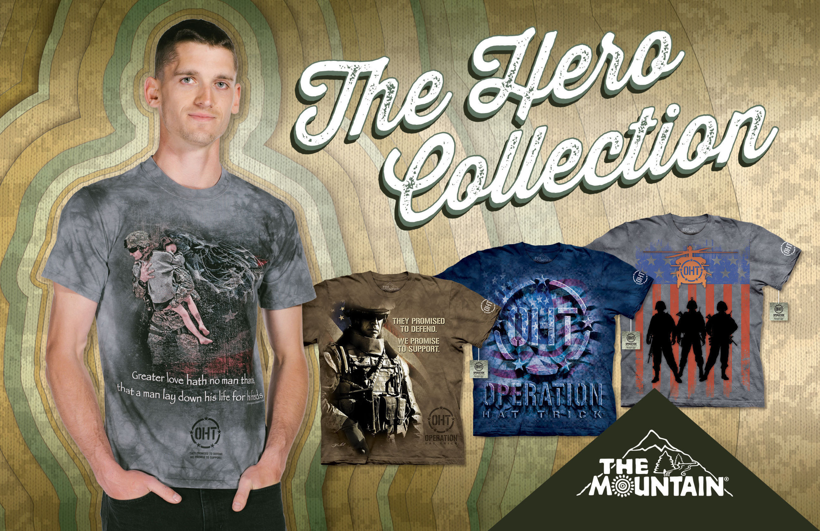 The Hero Collection by The Mountain Apparel Company