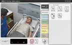Laerdal Medical and Wolters Kluwer Health today introduced vSim for Nursing, a virtual simulation learning tool for nursing students.  Accessed online, vSim for Nursing simulates a patient encounter using computer-animated avatars that allow nursing students to access and practice patient care anytime and anywhere.  The product can be purchased online at: http://thepoint.lww.com/vsim.  (PRNewsFoto/Wolters Kluwer Health)