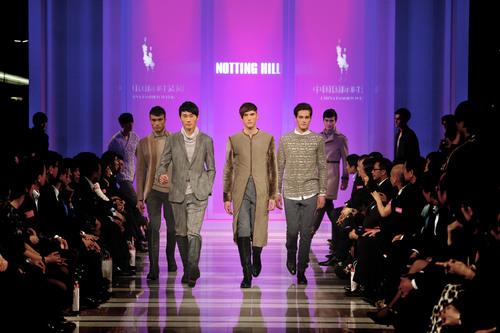 NOTTING HILL's International Fashion at the First Show of China International Fashion Week