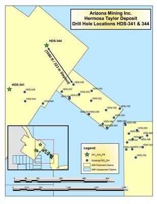 Drill Location Map