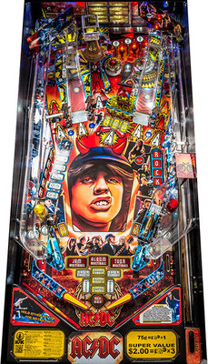 Stern Pinball's AC/DC LED Playfield
