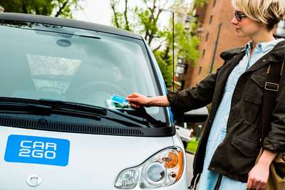 car2go continues expansion in the United States and Canada, making urban mobility more convenient, more flexible, and more widely available than ever before.  (PRNewsFoto/car2go North America LLC)