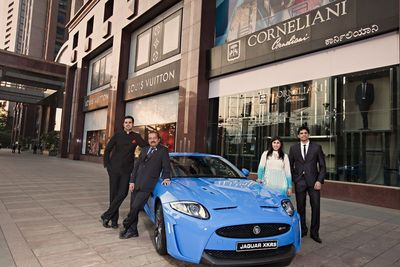Jaguar Trousseau Week 2012 presented by Sublime Galleria gets underway at The Collection, UB City from 17th Oct '12, going on till the 21st Oct '12