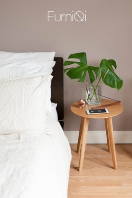 FurniQi: Empower Your Home With Wireless Charging (PRNewsFoto/Fonesalesman)