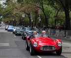 Peter Grady, President & CEO of Maserati North America, Inc. leading the parade (PRNewsFoto/Maserati North America, Inc.)