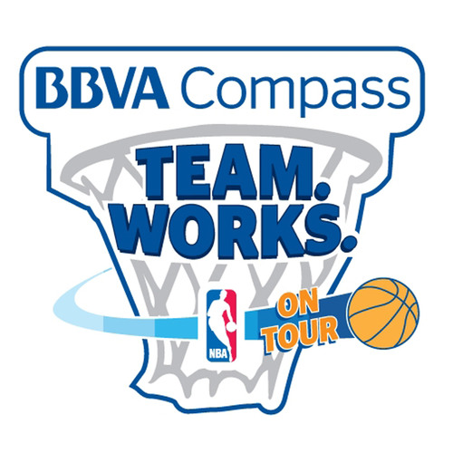 BBVA Compass NBA 'Team. Works. on Tour(SM)' Hits the Road on April 2