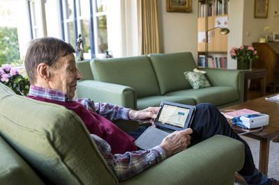 Telehealth with heart failure senior patient