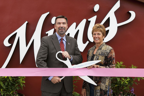 Mimi's Cafe President and Chief Concept Officer debuts the new Mimi's Bakery, Cafe and Bistro at the ...