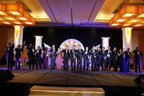 Recipients of the Asia Pacific Entrepreneurship Awards 2013 Singapore celebrating their achievements.  (PRNewsFoto/Enterprise Asia)