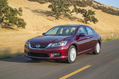 2014 Honda Accord Shatters All-Time Monthly Sales Record, Leads Honda Division to Third Best Month in History (PRNewsFoto/American Honda Motor Co., Inc.)