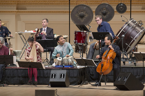 The Silk Road Ensemble with Yo-Yo Ma performing at Carnegie Hall © Jennifer Taylor (PRNewsFoto/Silkroad)