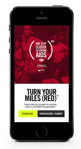 An AIDS Free Generation is a goal within reach.  Run for it. (PRNewsFoto/(RED))
