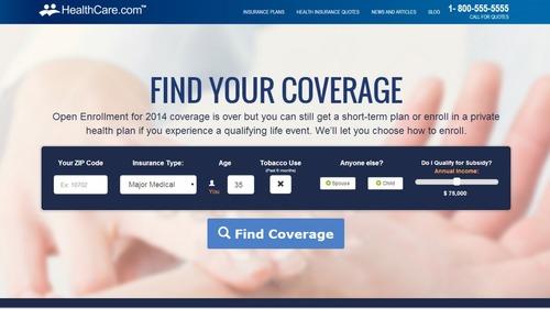 Healthcare.com Comparison Tool (PRNewsFoto/HealthCare.com)