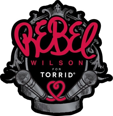 Rebel Wilson For TORRID Logo