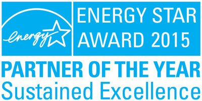 EPA RECOGNIZES USAA REAL ESTATE CO. WITH 2015 ENERGY STAR(R) PARTNER OF THE YEAR - SUSTAINED EXCELLENCE AWARD