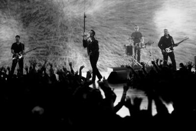 "U2 Announces New Song ""Invisible"" Free For 24 Hours. (PRNewsFoto/Interscope Records) (PRNewsFoto/INTERSCOPE RECORDS)"