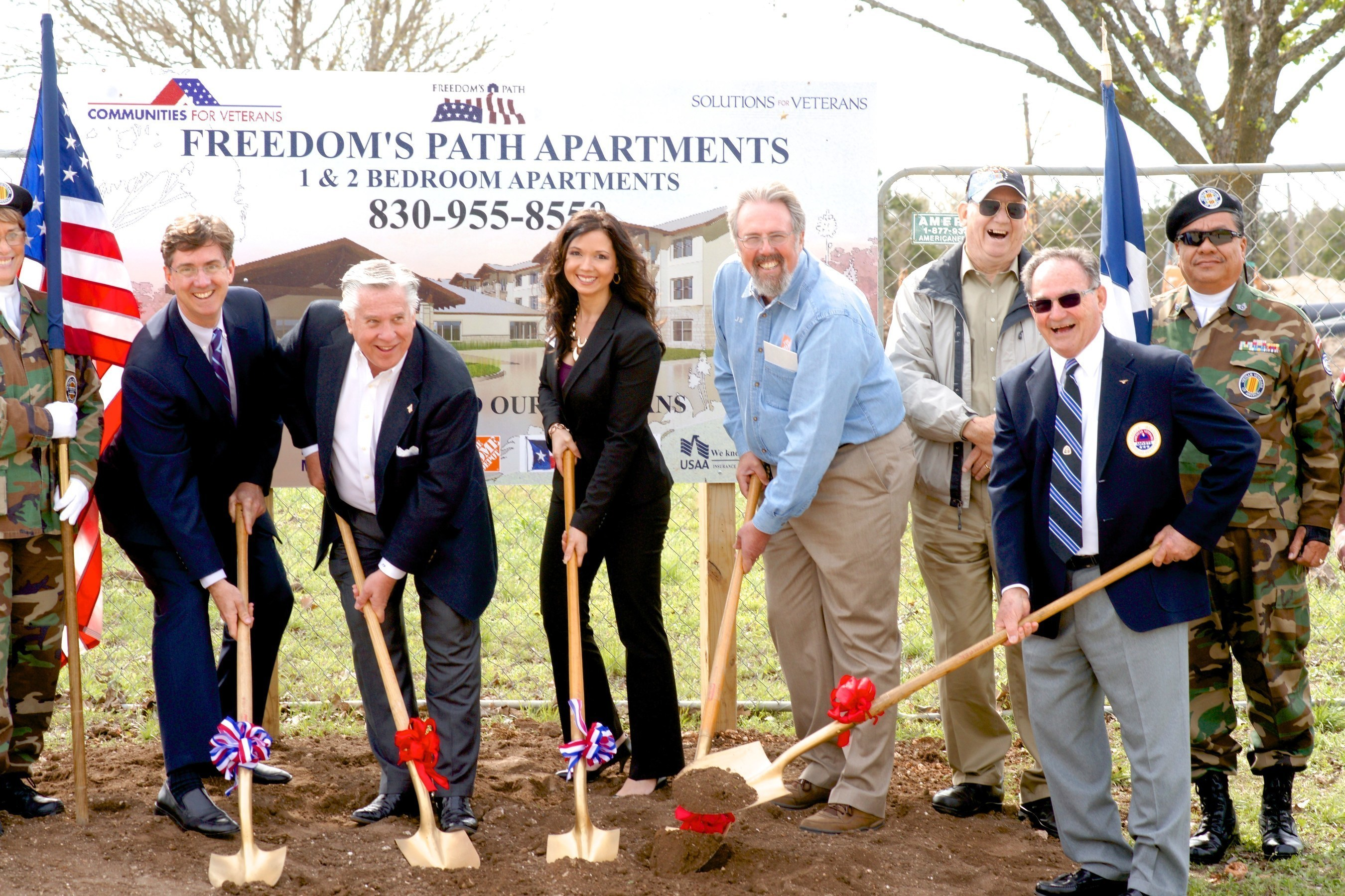 Construction Starts on Project for Disabled Veterans, Thanks to $500K Grant