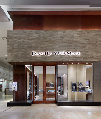 David Yurman Toronto Boutique exterior shot at The Yorkdale Shopping Center Toronto, Canada.  (PRNewsFoto/David Yurman, Jeffrey Totaro)