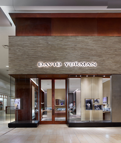 David Yurman Toronto Boutique exterior shot at The Yorkdale Shopping Center Toronto, Canada.  (PRNewsFoto/David  ...