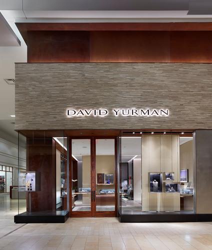 David Yurman Toronto Boutique exterior shot at The Yorkdale Shopping Center Toronto, Canada.  (PRNewsFoto/David  ...