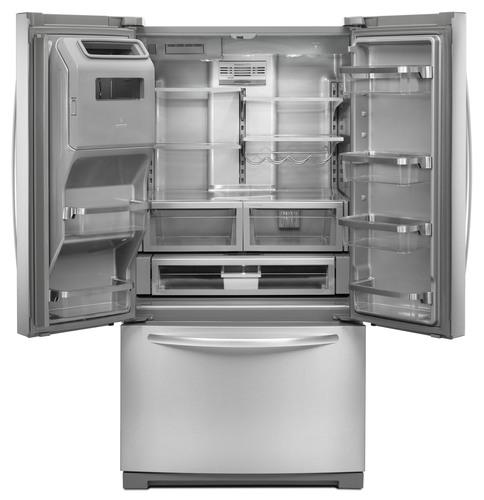 New Kitchenaid 174 Refrigerator Features Unique Platinum Interior