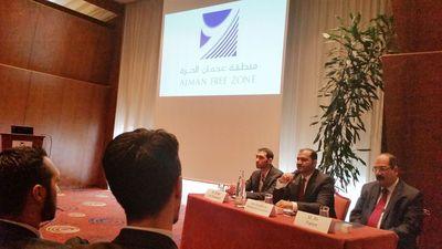 Ajman Free Economic Zone presentation in Lyon (PRNewsFoto/Ajman Free Zone)
