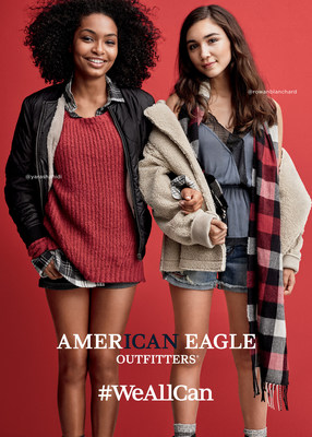 AEO #WeAllCan Holiday '16 Campaign