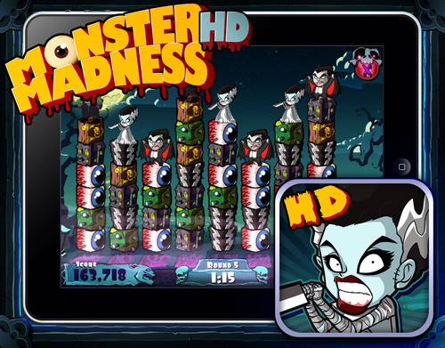 Megatouch Celebrates Halloween with Monster Madness HD® for the iPad