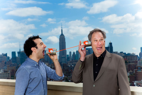 WNYC's Radiolab Hosts Jad Abumrad and Robert Krulwich (Photo courtesy WNYC / marcoantonio.com).  ...