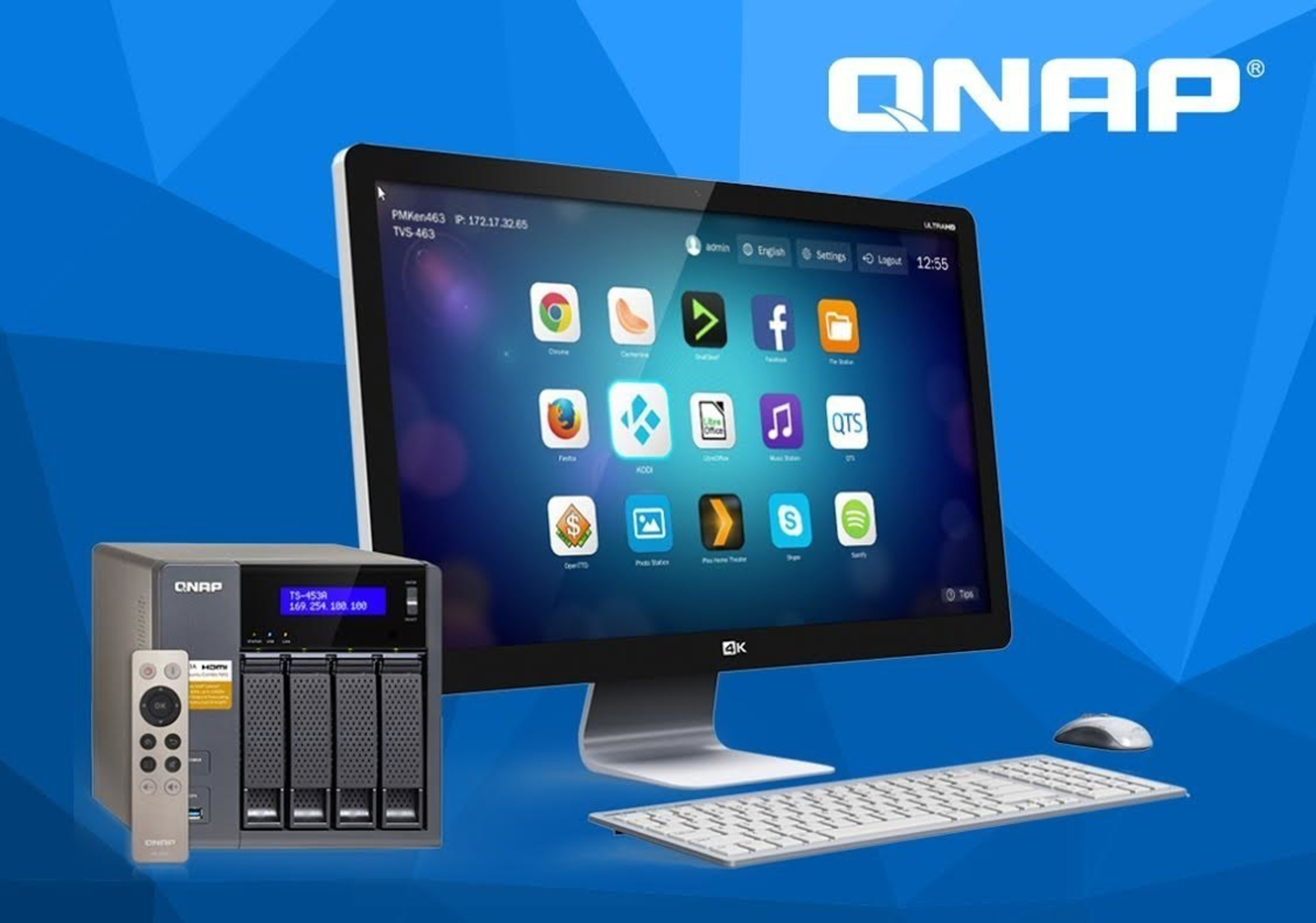 QNAP® Upgrades Mid-level SMB NAS Lineup with a Multitude of