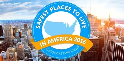 Annual report on the safest places to live is out for 2016. AlarmSystemReviews.com ranks the top 15 states and 45 cities.