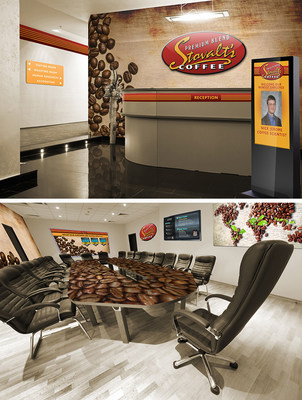 FASTSIGNS(R) provides visual communications solutions to help companies transform everyday environments such as lobbies and conference rooms into interesting spaces that make a great first impression. From wall murals and table graphics, to digital displays and wayfinding systems, signs and visual graphics can connect brand messaging with decor.