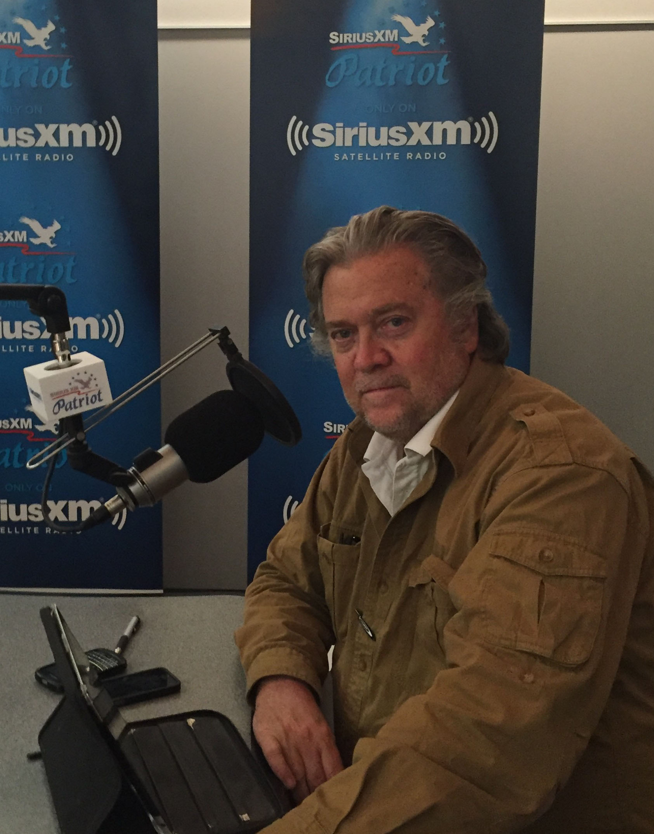 Stephen K. Bannon to Headline New Morning Show 'Breitbart News Daily' Exclusively on SiriusXM