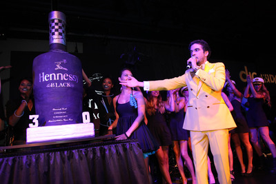 DJ Cassidy's 30th Birthday / Hennessy Black's One Year Anniversary on the Intrepid.  (PRNewsFoto/Hennessy, Johnny Nunez)