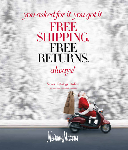 Neiman Marcus Group To Permanently Offer Free Shipping And Returns For All Purchases