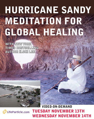 Global Healing Meditation Event for Survivors of Hurricane Sandy.  (PRNewsFoto/LifeParticle.com)