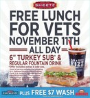 Sheetz Celebrates Veterans Day With Free Meal For Veterans And Active Military Personnel