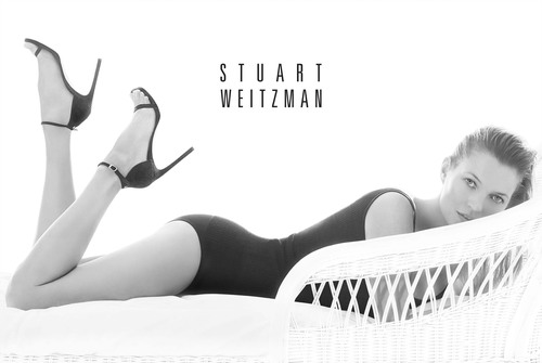 Kate Moss Channels Sun-Kissed Sensuality in Stuart Weitzman's Spring 2014 Advertising Campaign. (PRNewsFoto/Stuart Weitzman) (PRNewsFoto/STUART WEITZMAN)