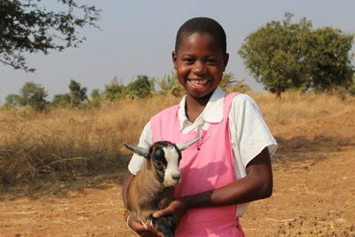 Evelesi, from Malawi is the face of CARE's #DreamWithHer initiative, a holiday gift experience for people who want to support global causes, particularly those related to women and girls and poverty. (C) 2016 CARE