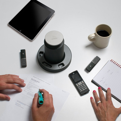 The conference phone evolved - Revolabs FLX(TM).  (PRNewsFoto/Revolabs, Inc.)