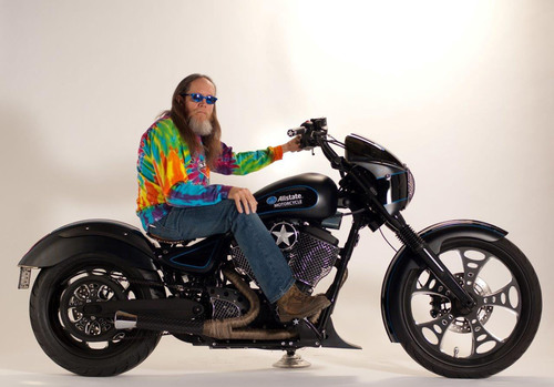 Allstate, Rick Fairless Unveiling Custom Motorcycle at Daytona Bike Week