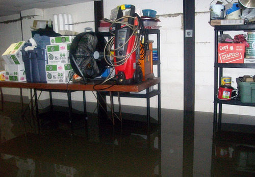 Has Spring Sprung a Leak in Your Basement? State Farm provides tips to reduce water damage.  (PRNewsFoto/State ...
