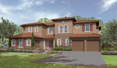 The elegant two-story Rockwell plan boasts 4 bedrooms and approx. 4,650 sq. ft.