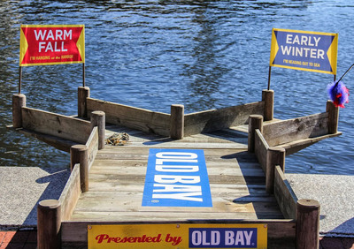 Baltimore Bill weather predicting crab. (PRNewsFoto/McCormick & Company, Inc.)