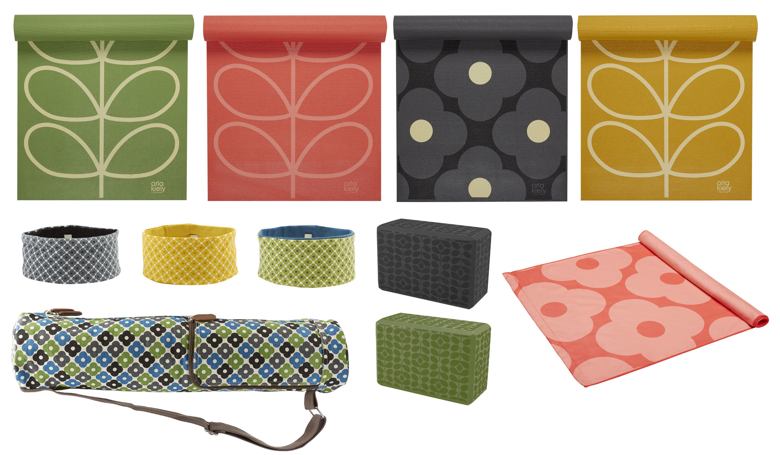 0ef0f09bcf87 Gaiam Partners With Orla Kiely To Launch Limited Edition Yoga Mats ...