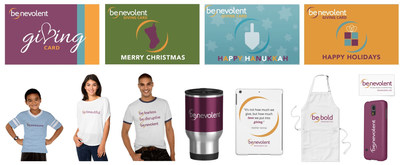 Benevolent giving cards and gear offer a touching and conscientious way to give the gift of giving to loved ones this holiday season. Everyone can make a difference by clicking, shopping and giving with Benevolent.