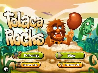 Tolaca Rocks Title Screen